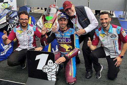 Di Meglio gana una alocada carrera sobre mojado en Austria