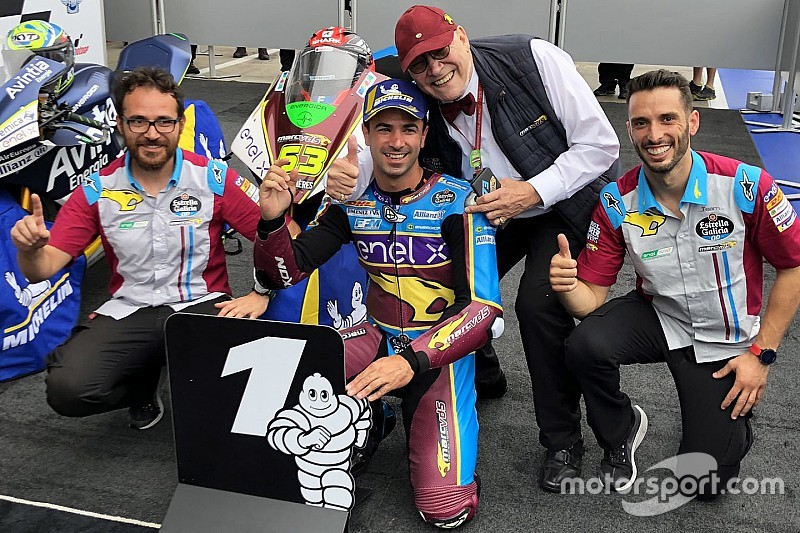 Red Bull Ring MotoE: Di Meglio wins five-lap wet thriller
