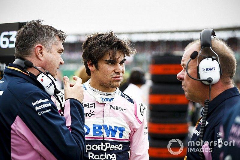 Stroll frustrado por la estrategia en Silverstone