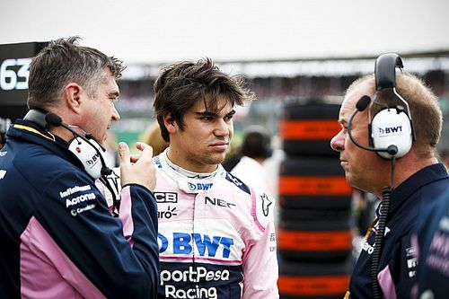 Frustrated Stroll questions British GP two-stop