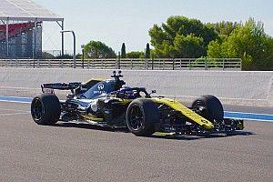 VIDEO: primer vistazo a las ruedas de 18 pulgadas en un F1