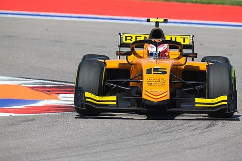 Rezerwowy Williamsa nadal w F2