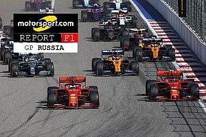 Report F1, GP di Russia: la coppia Ferrari che scoppia