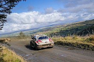 Rally GB WRC: Tanak stays in lead, Neuville rises to second