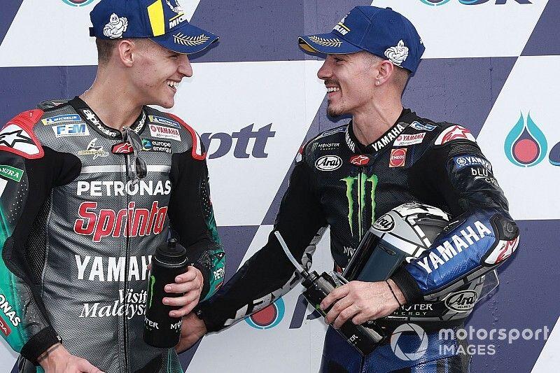 """Viñales: """"Con el rebufo puedo seguir a Márquez en carrera"""""""
