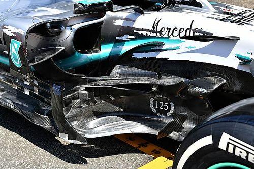 Mercedes presenta novedades aerodinámicas para Hockenheim