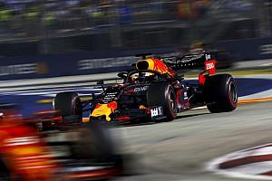 """Verstappen : Singapour, un """"signal d'alarme"""" pour Red Bull"""