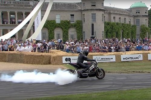 Watch This 542hp Turbine Motorcycle Hit The Track At Goodwood