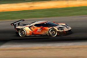 Van Buren en Verstappen 'strijdend ten onder' in virtuele Petit Le Mans