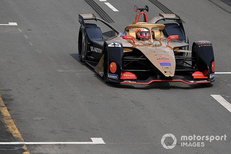 Vergne nyerte a Sanya ePrix-t, ami sárga zászlóval ért véget