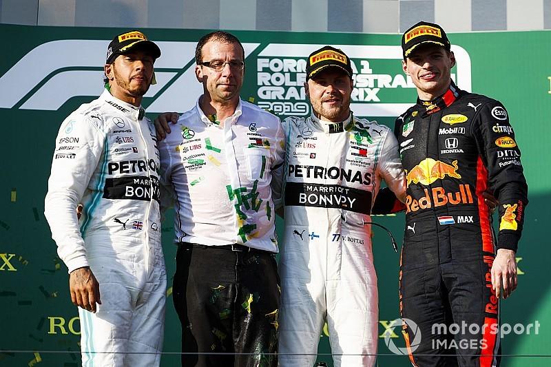 Avustralya GP: Bottas, 2017'den sonra ilk kez kazandı; Verstappen, Honda'yı podyuma çıkardı!