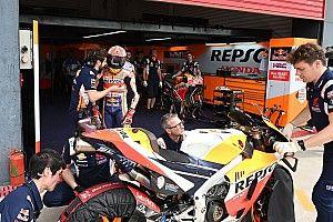Honda llega a Jerez convencida de haber solucionado sus problemas con la cadena