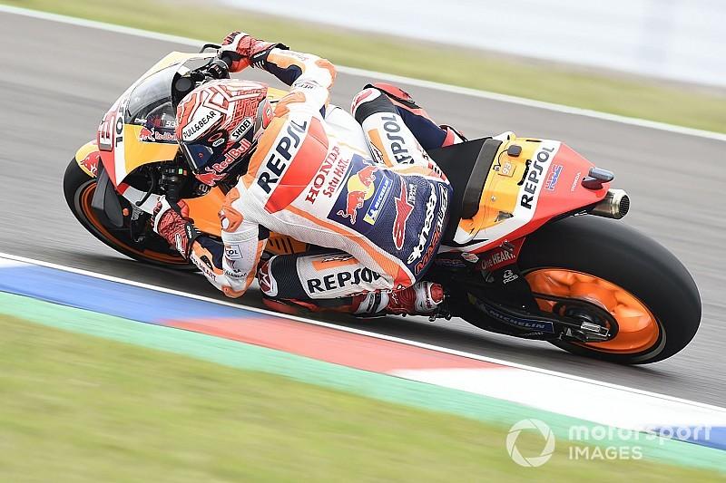 Marquez domina in Argentina, Rossi piega Dovizioso per il secondo posto