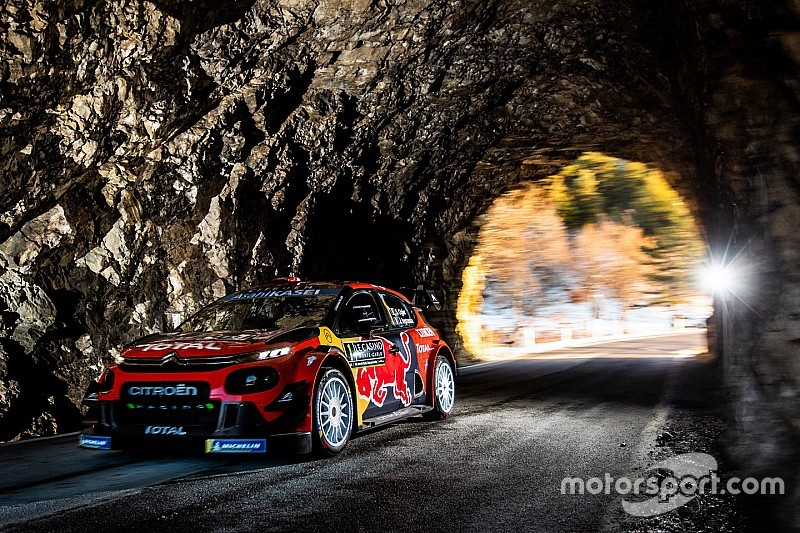 Monte Carlo WRC: Ogier leads as Tanak hits trouble