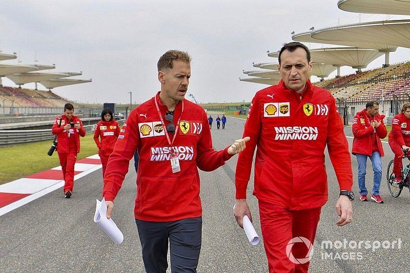 Ferrari sigue viendo a Vettel como su mejor candidato al título