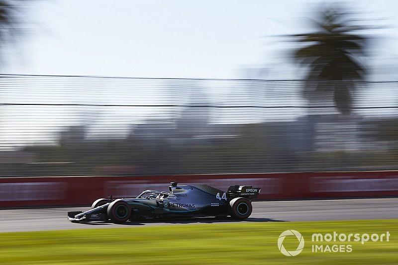 Lewis Hamilton comanda la práctica antes de la calificación en Australia