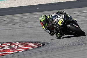 1er pilote Honda, Crutchlow doit encore s'adapter à l'avant de sa moto