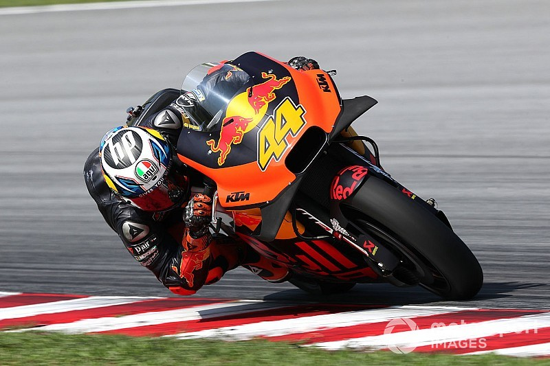 "Espargaro hails ""unbelievable"" KTM race pace gains"