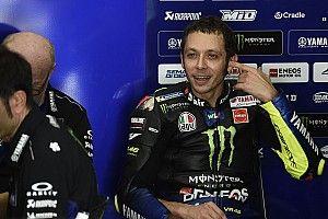 Jika besok balapan, Rossi akan kesulitan