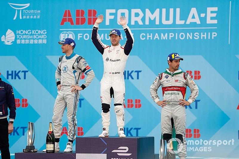 Bird supera Lotterer para vencer ePrix de Hong Kong; Di Grassi é 3º