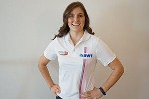 كالديرون أوّل فتاة تنضمّ إلى الفورمولا 2 مع فريق أردين