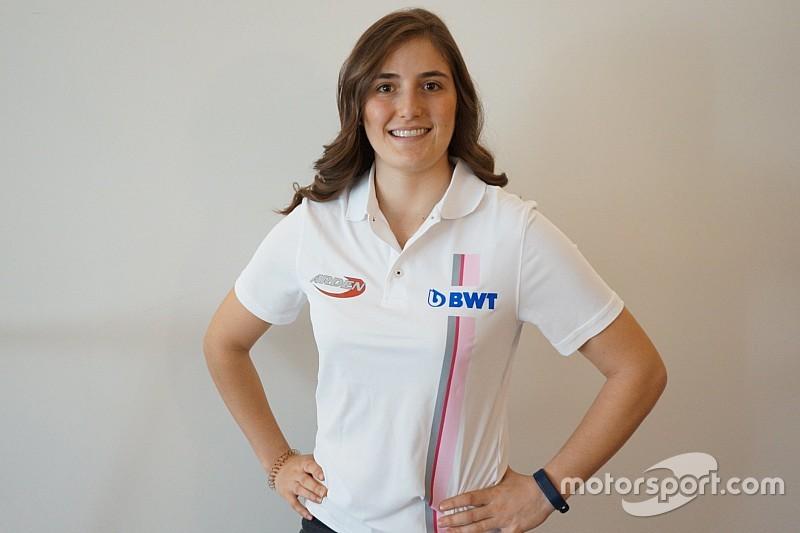 Női indulója is lesz az F2-es szezonnak: Tatiana Calderon az Ardennél