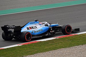 Williams still waiting for parts to begin aero programme