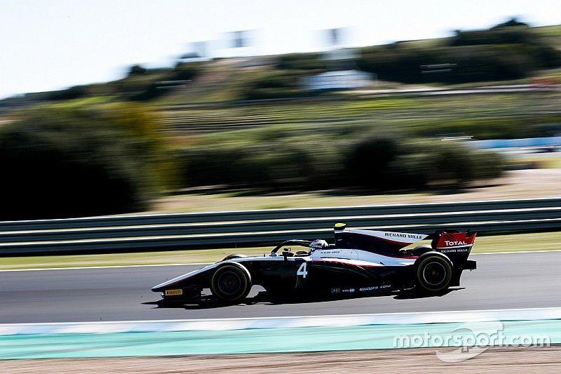 De Vries repitió como el más rápido en el test de F2