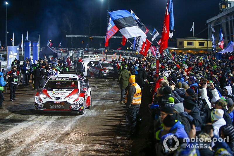 Cancelada la primera especial del Rally de Suecia