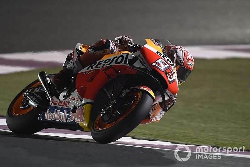 MotoGP Katar 3. antrenman: Marquez düşmesine rağmen en hızlısı!