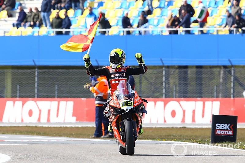 """Bautista gongola: """"Abbiamo vinto nonostante le limitazioni sulla Ducati"""""""