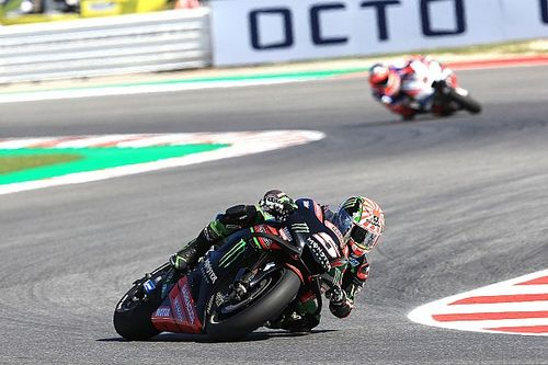 """Sad"" Zarco having to ""fight with my own bike"""