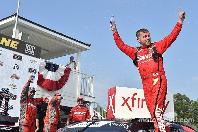 Justin Allgaier tops Matt Tifft for Xfinity win at Road America