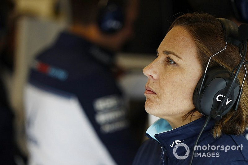 Why Claire Williams isn't running from a dire 2019