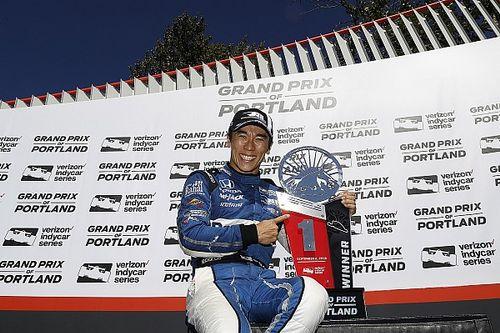 IndyCar Portland: Sato menang, Dixon menuju gelar kelima