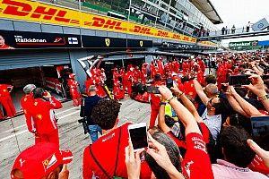 A Ferrari kerékcseréjénél nem volt gyorsabb az Olasz Nagydíjon