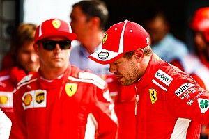 """Vettel: """"Es triste saber que Kimi no seguirá"""""""