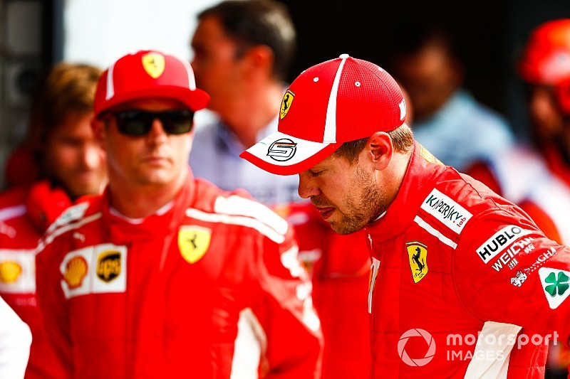 Vettel descarta órdenes de equipo en Ferrari