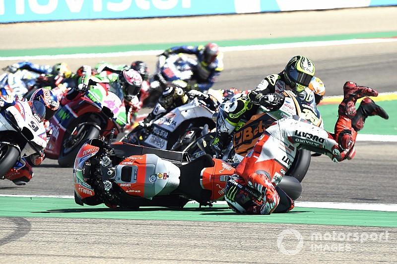 Incidente entre Márquez e Lorenzo provoca climão na MotoGP