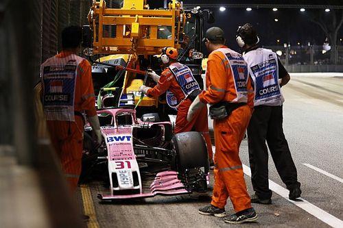 Kierowcy Force India nie mają pozwolenia na walkę