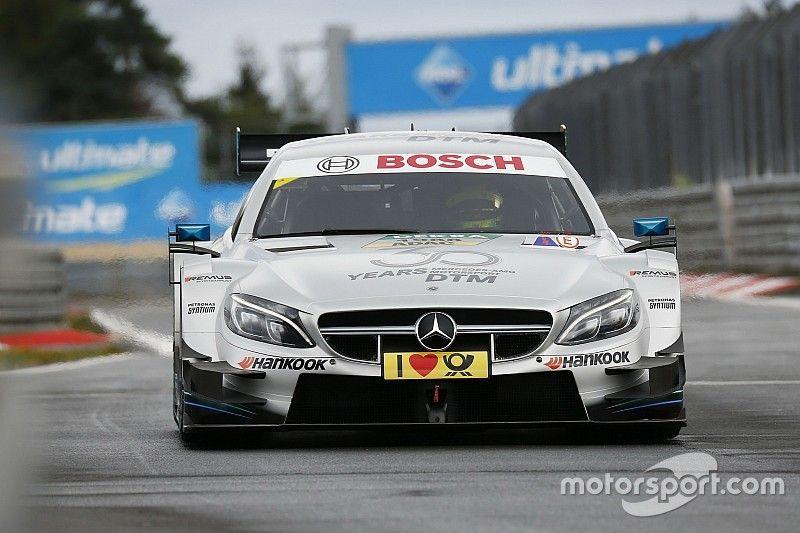 Schumacher jajal DTM untuk pertama kali di Nurburgring