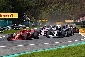 """Vettel passe devant Prost au terme d'une course """"sans accroc"""""""
