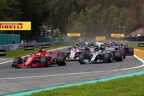 Ergebnis: Formel 1 Belgien 2018, Rennen