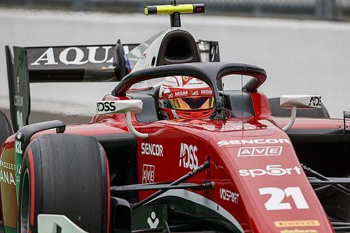 Ferrari junior Fuoco stripped of Monza F2 sprint race pole