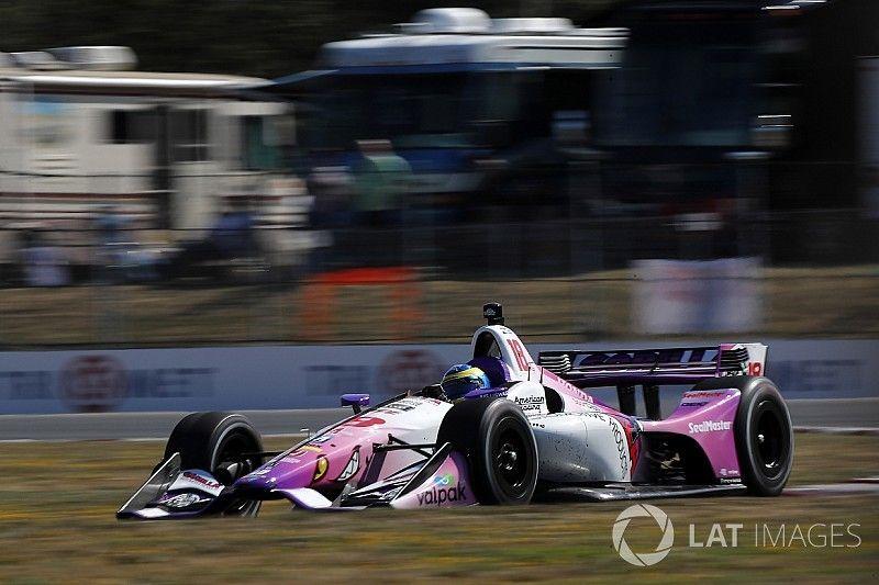 Portland IndyCar: Bourdais goes fastest in FP3, then shunts