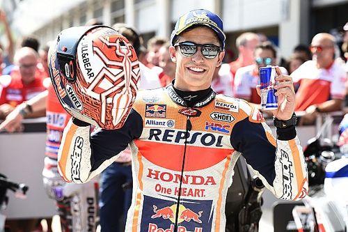 De startopstelling voor de MotoGP Grand Prix van Oostenrijk