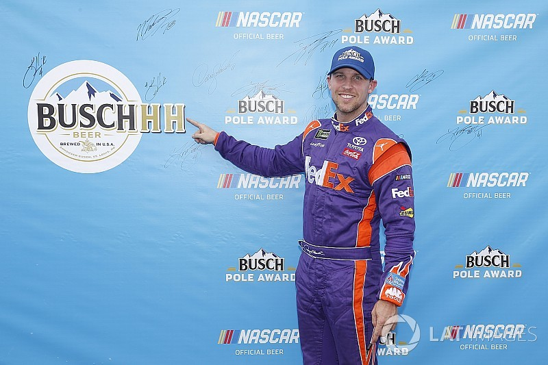 NASCAR Cup Michigan starting lineup in pictures