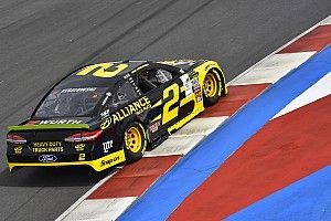 Brad Keselowski goes fastest in final Roval practice, then wrecks