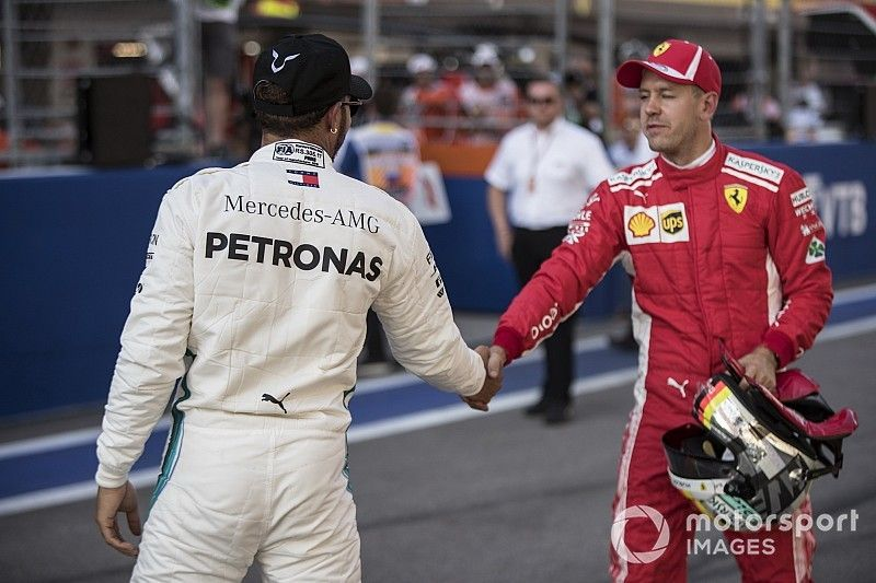 Vettel: facilitamos muito a vida de Mercedes e Hamilton