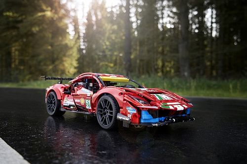 LEGO® Technic™ teams up with Ferrari to capture the element of the 488 GTE